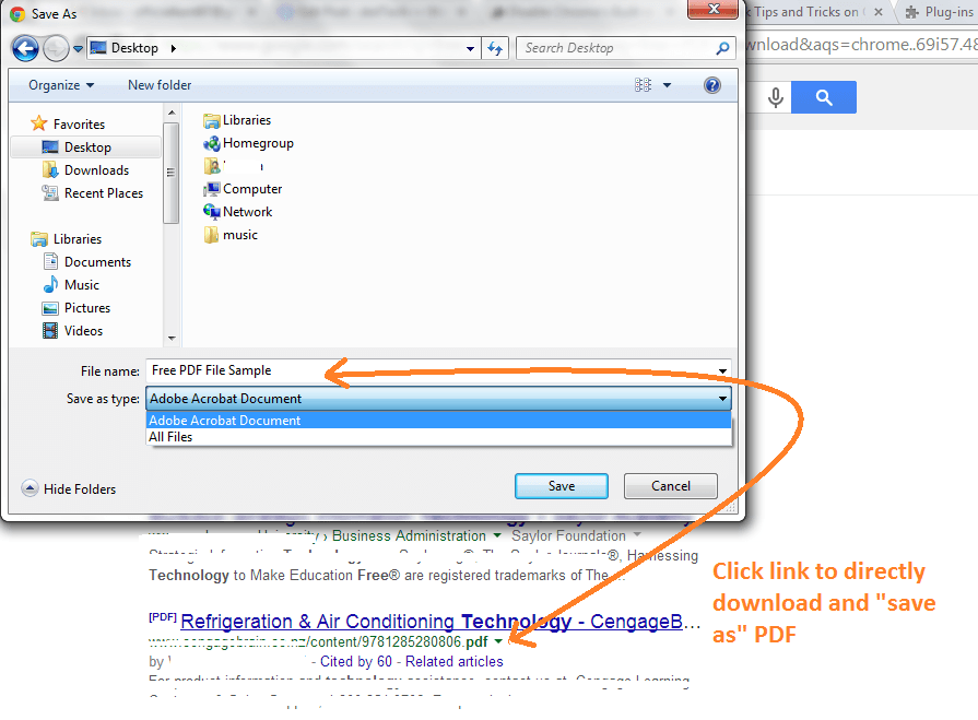 Directly Download as PDF Chrome