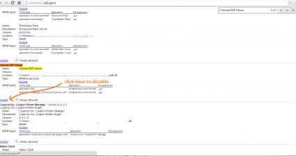 Disable Chrome PDF Viewer