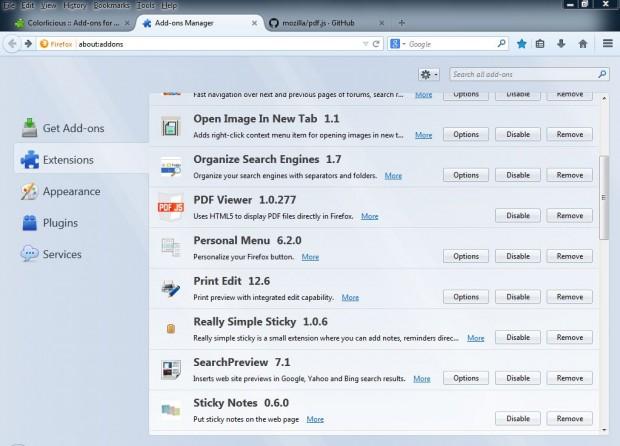 Firefox PDF