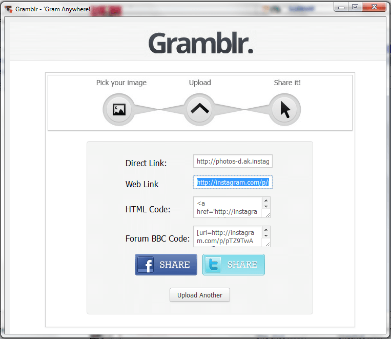 Gramblr Setup6