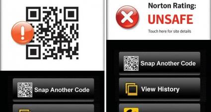 Norton Snap QR Code Scanner