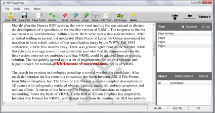 PDF Eraser Free for Windows