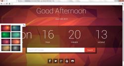 Shader 3D New Tab Chrome