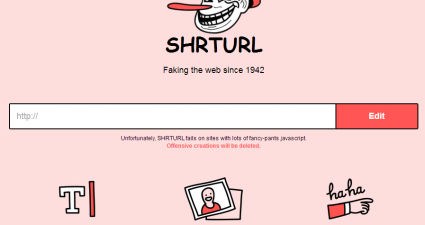 Shrturl for Web