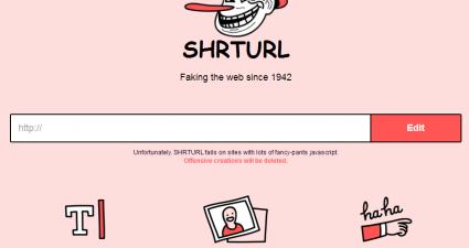 Shrturl for Web