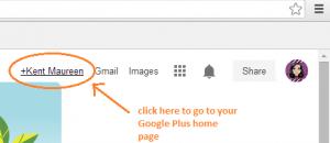 disable Google Plus notifications