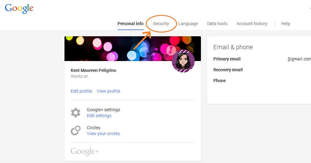 revoke app access Google account c
