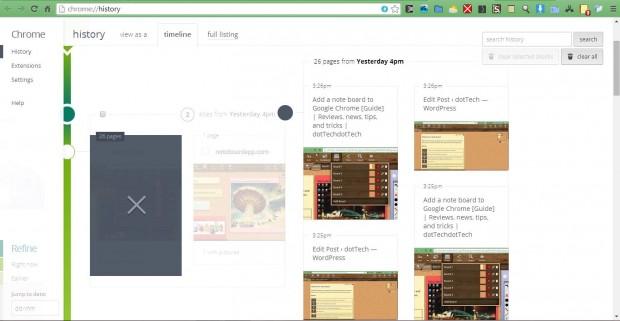 Chrome timeline2