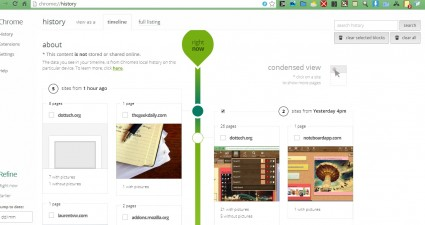 Chrome timeline4