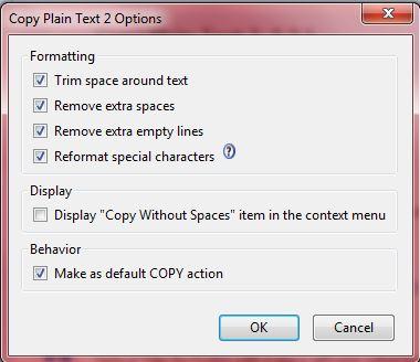 Copy as plain text3