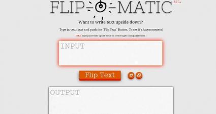 Flip-O-Matic for Web
