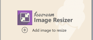 Icecream Image Resizer for Windows