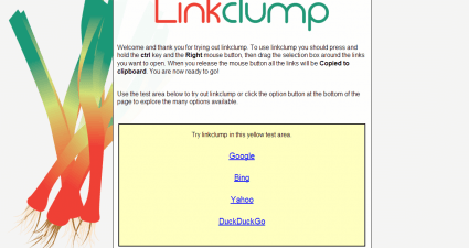 Linkclump for Chrome