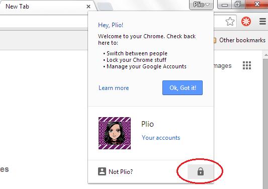 Lock Chrome Browser
