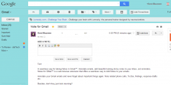 Notes for Gmail Chrome Extension