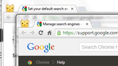 Open new tab in a new window