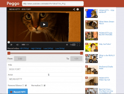 Peggo for YouTube