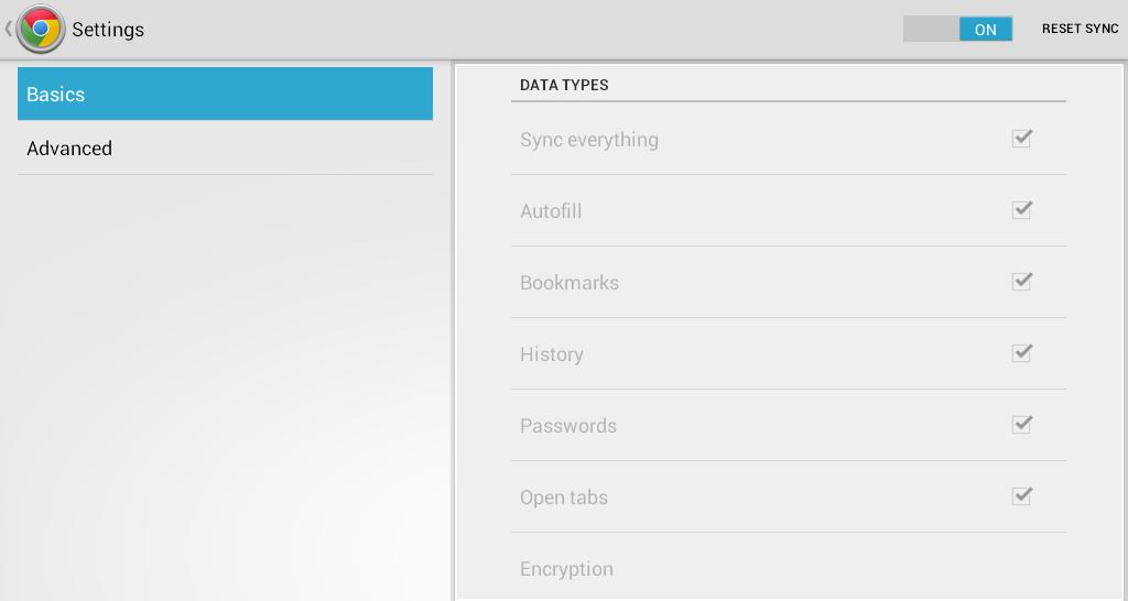 Sync Bookmarks Chrome c