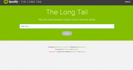 The Long Tail for Web