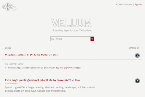 Vellum for Web App