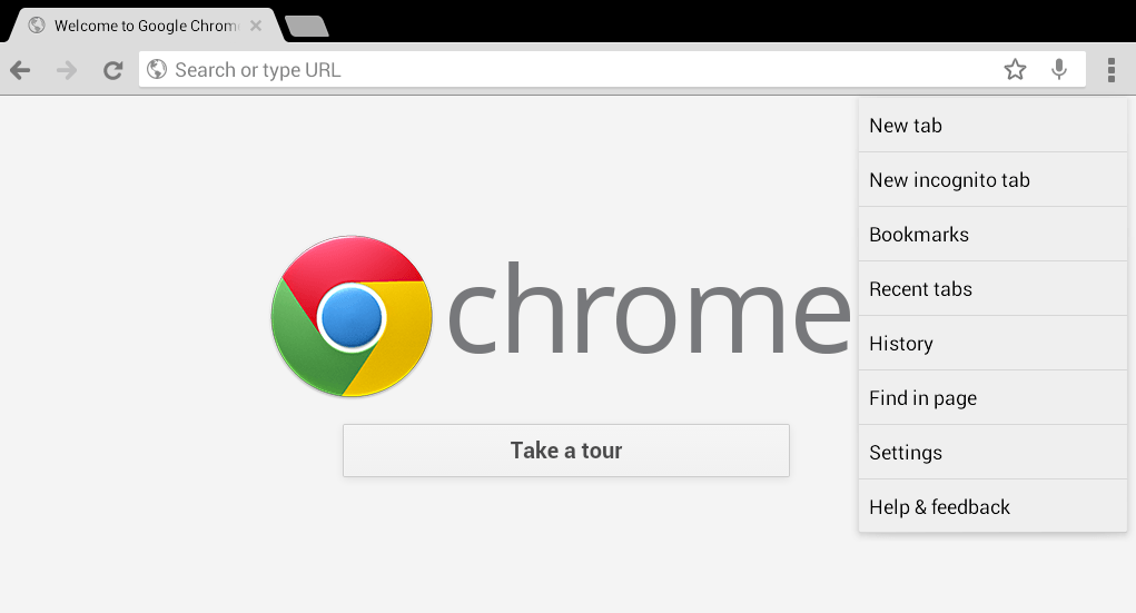 clear browsing data chrome android