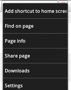 save a bookmark to home screen 2