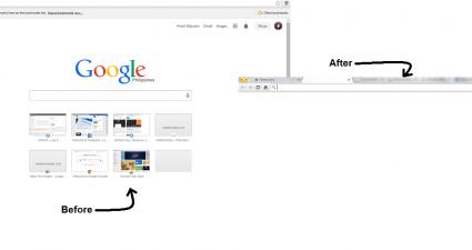 set a blank new tab page Chrome