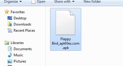 APK file sample