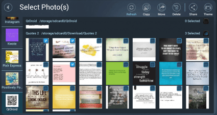 Create slideshows in Android