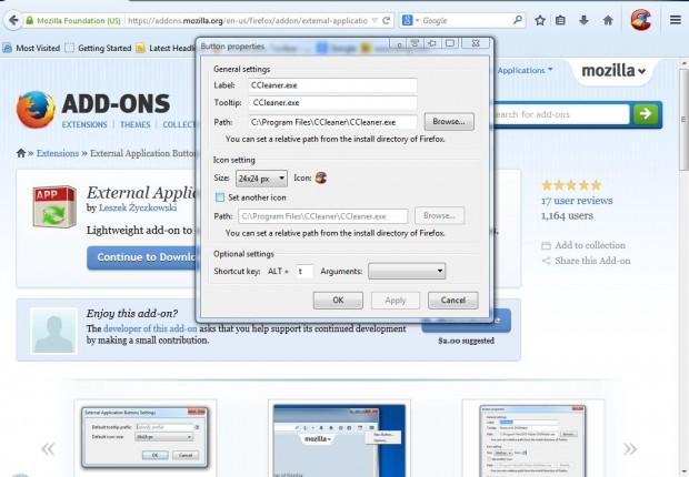External Application Buttons2