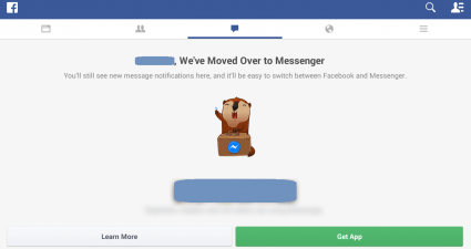 Facebook Messenger Moved