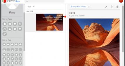 Flava for Web Note Taking