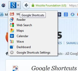 Google shortcuts4