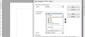 OpenOffice Toolbars7