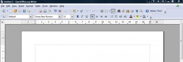 OpenOffice toolbar3