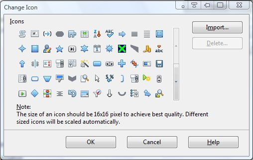 Openoffice toolbar6