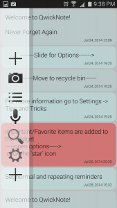 QwickNote for Android