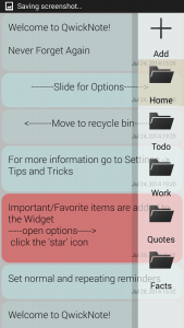 QwickNote for Android App Free