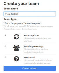 Teamreporter Project Management Tool