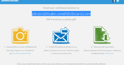 Unwhiteboard for Web App