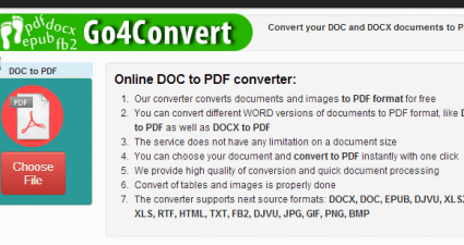 convert EPUB to PDF online