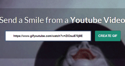 create GIFs from YouTube