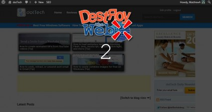 destroy the web7