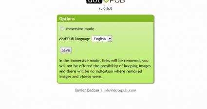 dotEPUB for Chrome extension