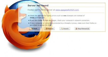 error page