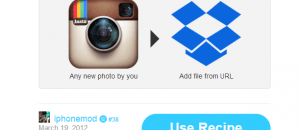 save Instagram to Dropbox