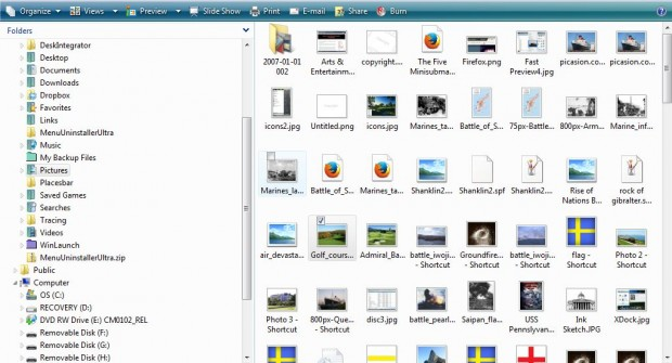 windows explorer file