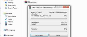 Extract FoldersPopUp