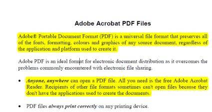 Extract text position pdf