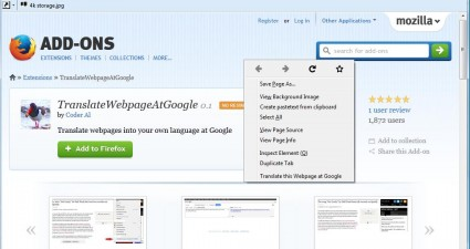 FirefoxXtranslate